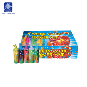 Fireworks handheld 5 color flower fireworks outdoor conspicuous