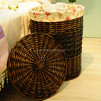 Cheap Wicker Laundry Organizer Baskets for Organizing