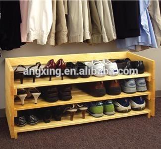 Encargo banco zapatero de madera maciza puertas zapatero for Disenos de zapateras de madera