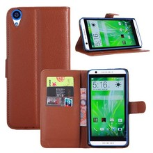 DS8201 Card Slots High Quality PU Leather Flip Case for HTC Desire 820