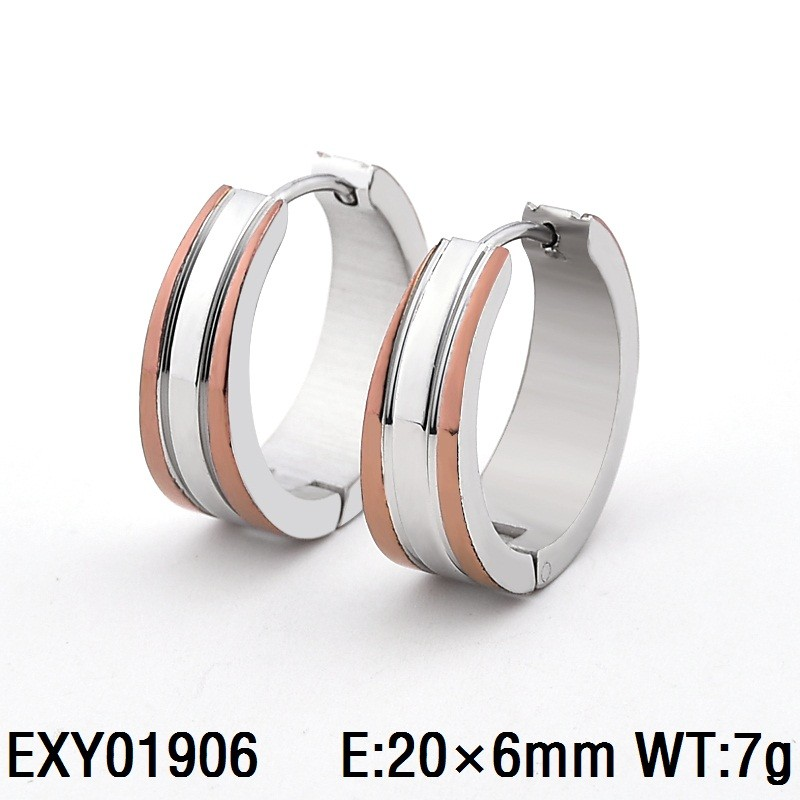 EXY01906 hot new men and women coffee huggie earring jewelry wholesale