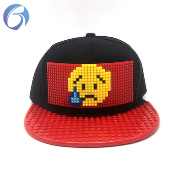 5eb87196e4b10 Novo estilo promocional legos personalizados bonés de beisebol de Alta  qualidade chapéu boné snapback