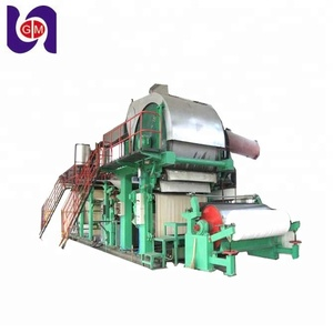 high quality and economical price 5 ton/day waste paper recycling Toilet tissue Paper jumbo roll making Machine