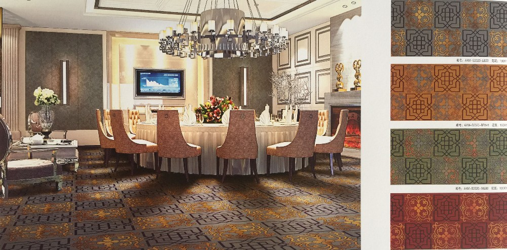 Modern Design Nylon Hotel Banquet Hall Flooring Carpet