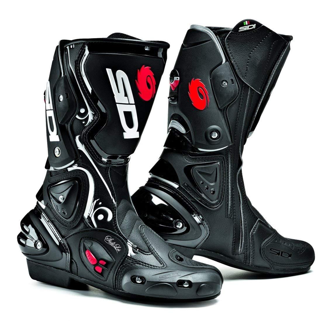 Get quotations · sidi vertigo lei ladies motorcycle boots black white us6 5 eu38 more