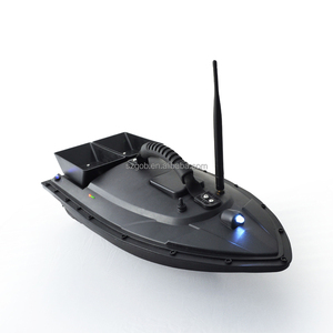 Fish Finder 5200mah 2kg Bait Loading 2pcs Hoppers with Double Motors 400M Remote Control Fishing Bait Boat