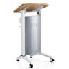 New design hot sale pulpit podium speech table lecture table