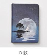 Креативный светящийся блокнот, книга-блокнот для детей, корейские Канцтовары, креативный дневник Kawaii, школьные и офисные принадлежности(Китай)