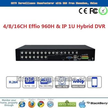 8ch Hybrid Dvr Multistar Dvr Network Viewer