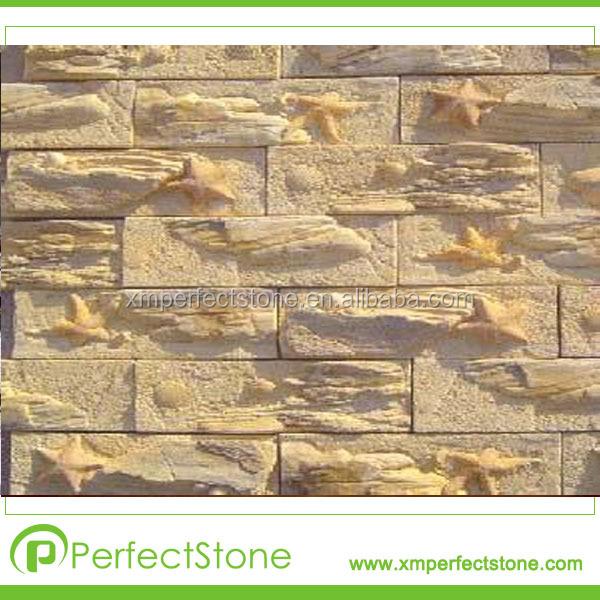 Piedra para fachada exterior good pared exterior y el - Piedra para exterior ...