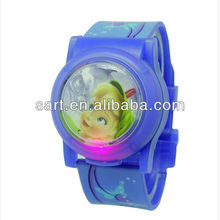 Disney Audited Flip Top Trendy Kids Flashing Watch