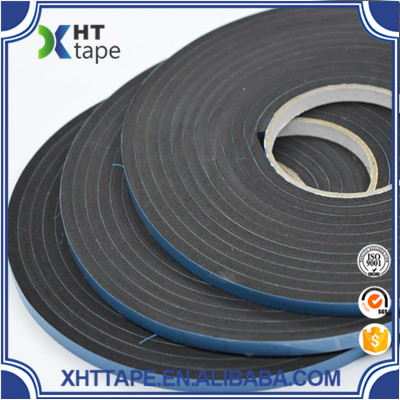 Custom 3MM to 20MM thick sided foam tape black double sided adhesive tape