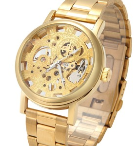 2018 Factory Cheap Price Winner Gold Sliver Skeleton Automatic Mechanical Watch For Men From China Good Suppliers