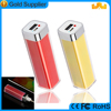 portable rechargeable aa battery lipstick usb charger for christmas gifts