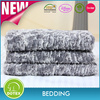 BSCI SEDEX Disney Audited manufacturer soft mink polyester faux fur Blanket