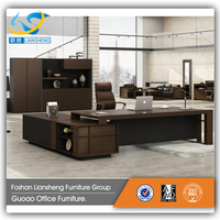 Factory Price Executive Computer Desk And Office Chairs,Metal Frame Office Table Set