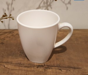 Factory supply high quality melamine promotion coffee mug with handle