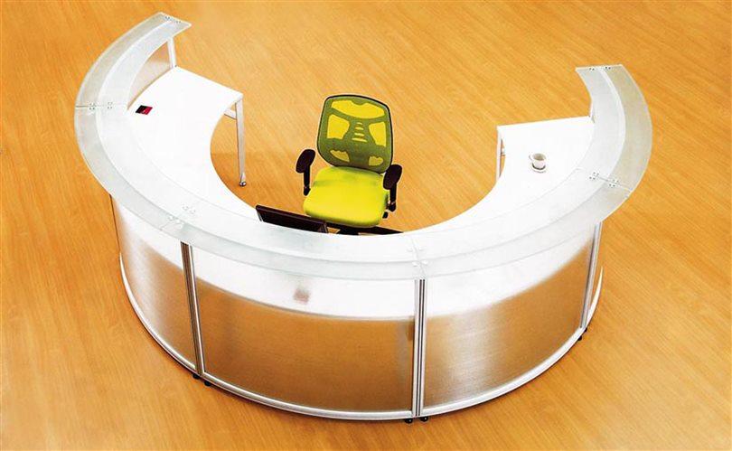 circular office desks. semi circle office desk for receptionist of half circular shape cd5512 desks s