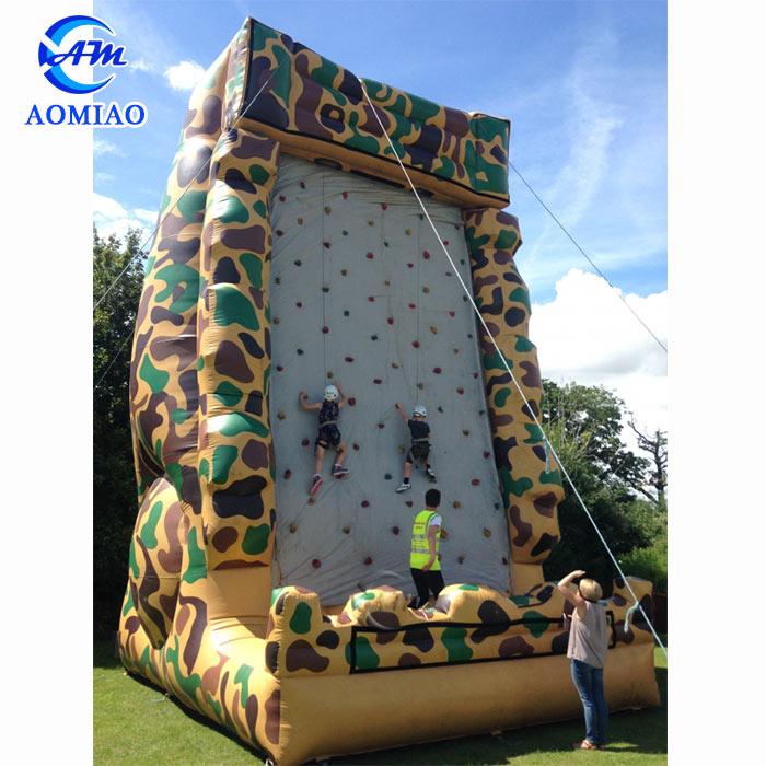 Hot Amusement Backyard Rock Climbing Wall Camouflage Inflatable Mountain Climbing  Walls - Buy Inflatable Climbing Wall,Backyard Rock Climbing Wall,Kids Rock  ... - Hot Amusement Backyard Rock Climbing Wall Camouflage Inflatable