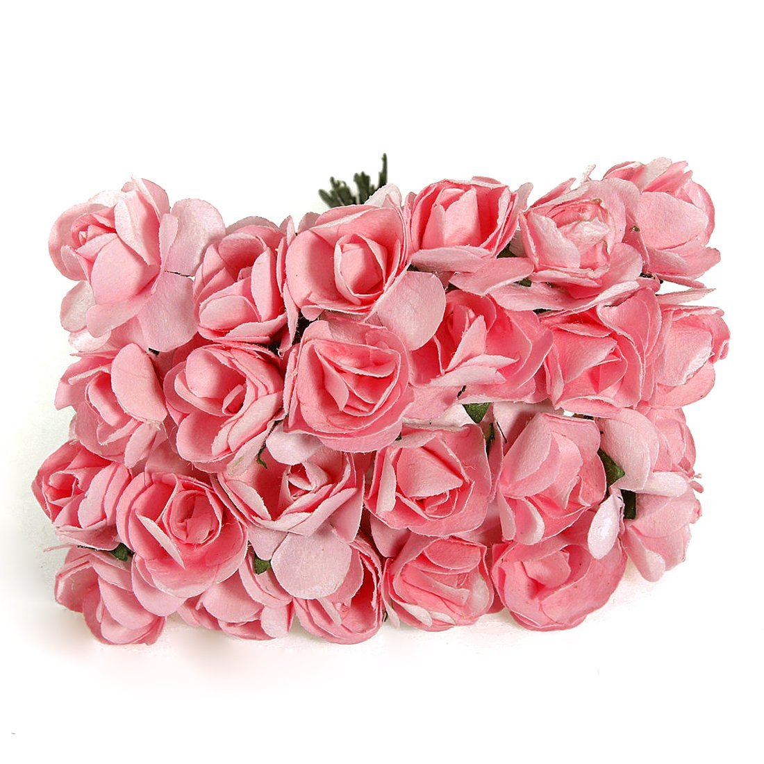 Buy Hot Sale 144 Pcs 15mm Pink Mulberry Paper Flowers Handmade