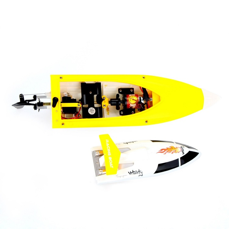 Hot Selling Feilun 2.4G High Speed RC Racing Boat 4CH Remote Control Boat Fei lun FT007