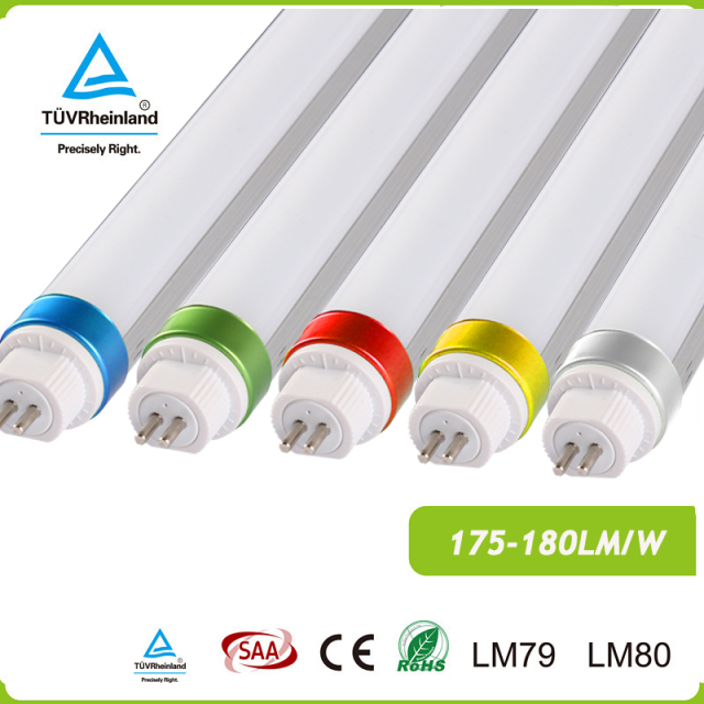 Led cri 98 flicker free factory 175LM/W AC100-277V direct t5 tube electronic ballast ETL/DLC