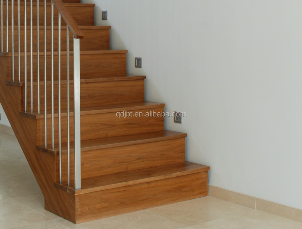 Elegant Solid Wood /MDF/ Partical Board Stair Treads