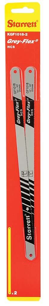 12 Inch, 18T, Pack of 2, Model 63256 Nicholson Shatter proof High Carbon Steel Hacksaw Blades Size