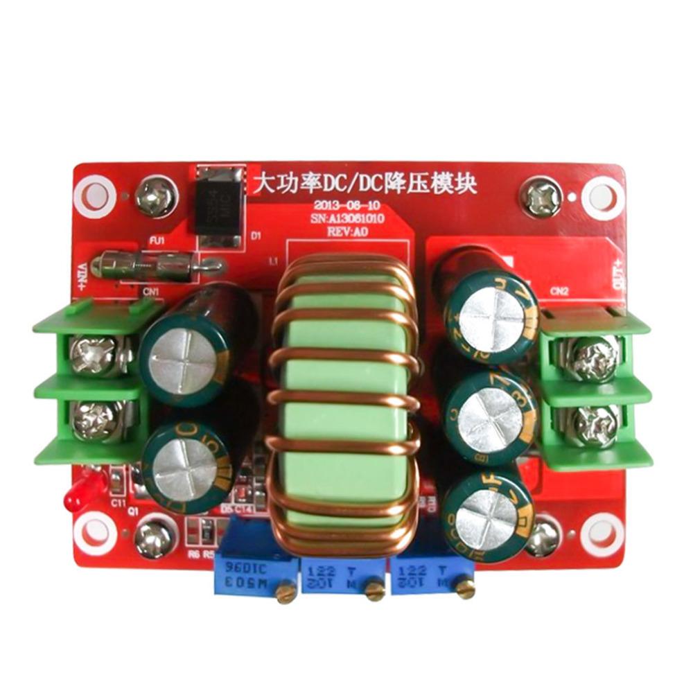 DC-DC 24V 12V bis 5V 5A Schritt-down-Stromversorgung Buck USB-Lademodul