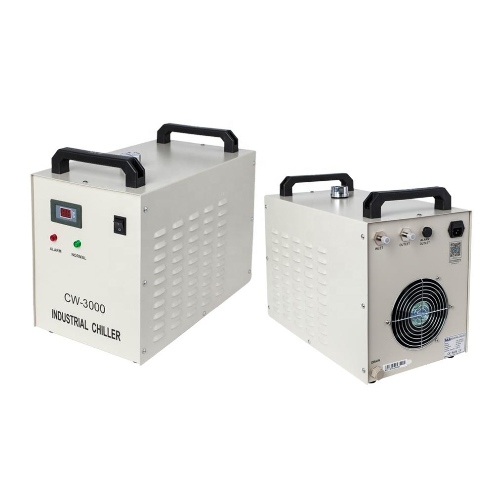 Cloudray CL1081 Laser Machine Onderdelen S & EEN CW3000 Industriële Water Chiller voor Graveermachine