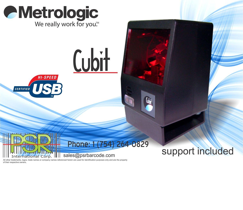 BRAND NEW Honeywell Metrologic Cubit MS6520 USB Omni Barcode Scanner w// Stand