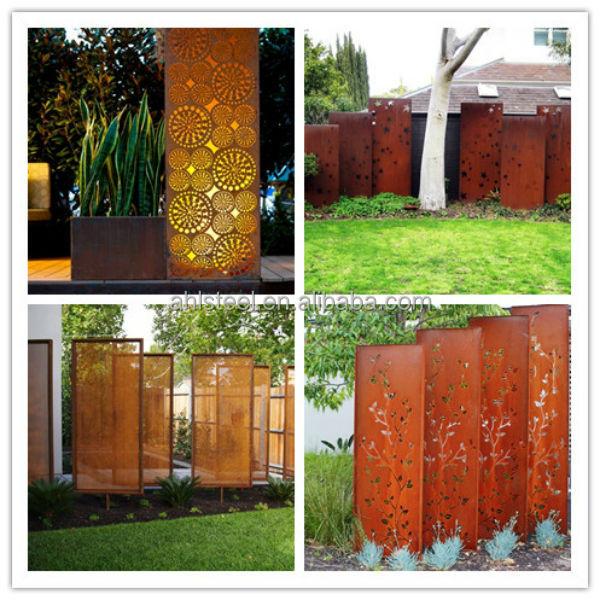 Corten A Rust Wall Cladding Steel Panel