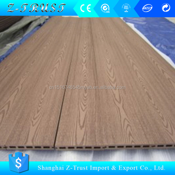 Hollow Wood Panel Decking Outdoor