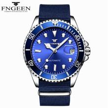 Мужские часы от ведущего бренда, роскошные полностью стальные автоматические механические часы Tourbillon, мужские ролевые спортивные наручные...(Китай)