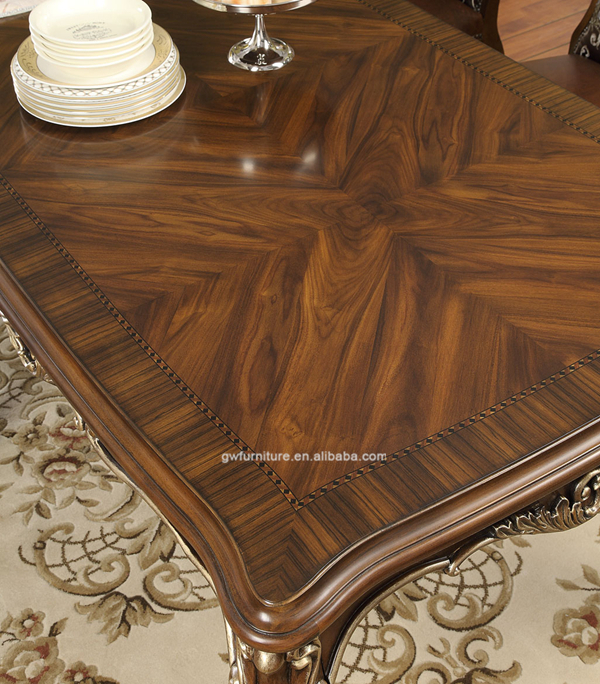 Home dining room furniture antique dining table designs WA158