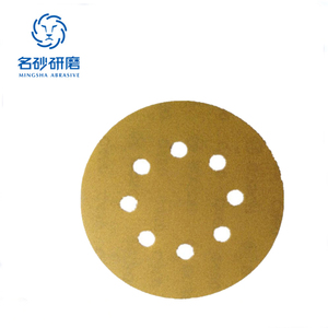 "ABRASIVE BELT HOOK AND LOOP 8 HOLE 5"" 125mm SANDING DISC PAPER ROLL FOR AUTOMOBILE INDUSTRIAL"