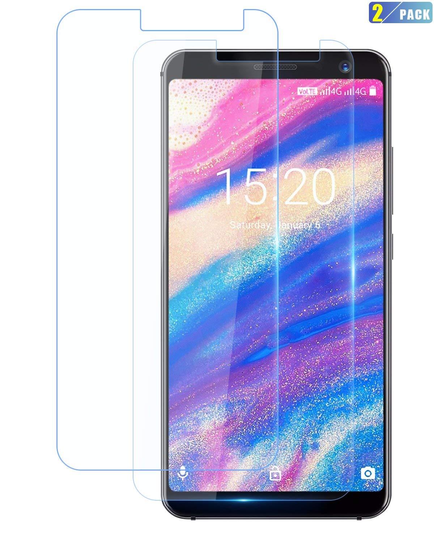 UMIDIGI A1 Pro Screen Protector, CiCiCat [2-Pack] 0.26mm 9H Tempered-Glass Screen Protector, Premium HD Clear Hardness Tempered Glass Screen Protector Film (2-Pack, UMIDIGI A1 Pro 5.5'')