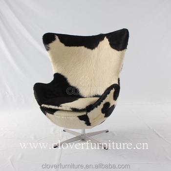 Arne Jacobsen Egg Chair Cowhide