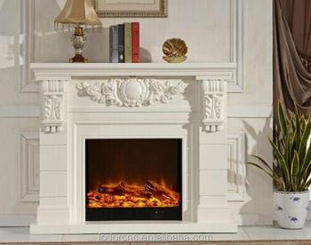 Indoor Freestanding Decor Flame Electric Fireplace Mantel Buy