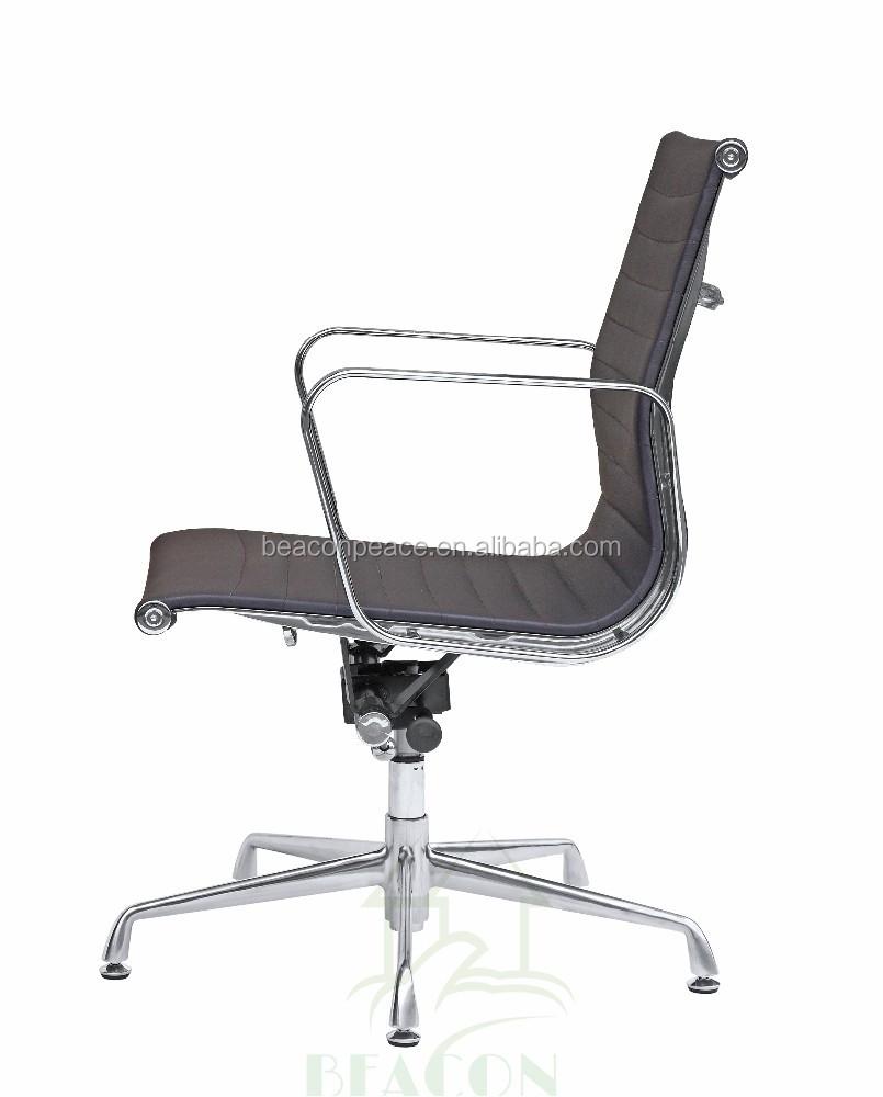Muebles de oficina silla de cuero silla de oficina sin - Silla oficina sin ruedas ...