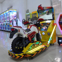 motor bike game machine racing simulator