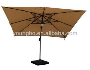 max solar powered 3m cantilever parasol buy garden hanging banana umbrella