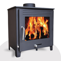 Energy saving smokeless wood coal burning multi-fuel stove