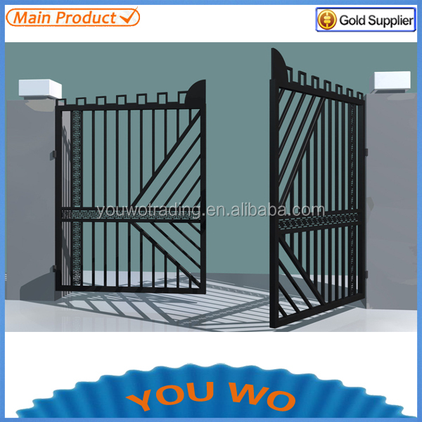 House Gate Designs/iron Main Gate Designs/cheap Wrought Iron ...