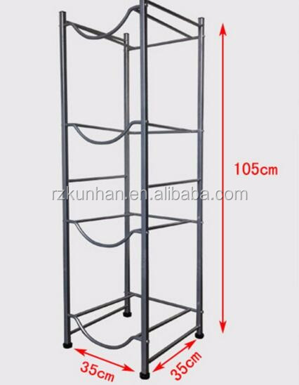 hot selling 5 gallon water bottle storage rack factory direct sale 5 gallon water bottle storage rack