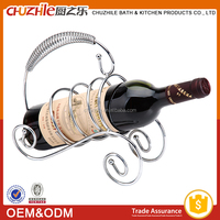 kitchen hardware industrial ChuZhiLe wall mounted wine bottle rack factory