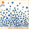 hotfix resin flatback Rhinestones round flat back stone resin with different size