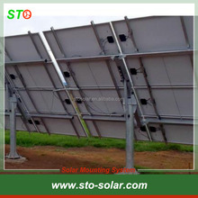 Industial Application PV Single Pole Ground Mounting Kits/Solar Pole Mounting