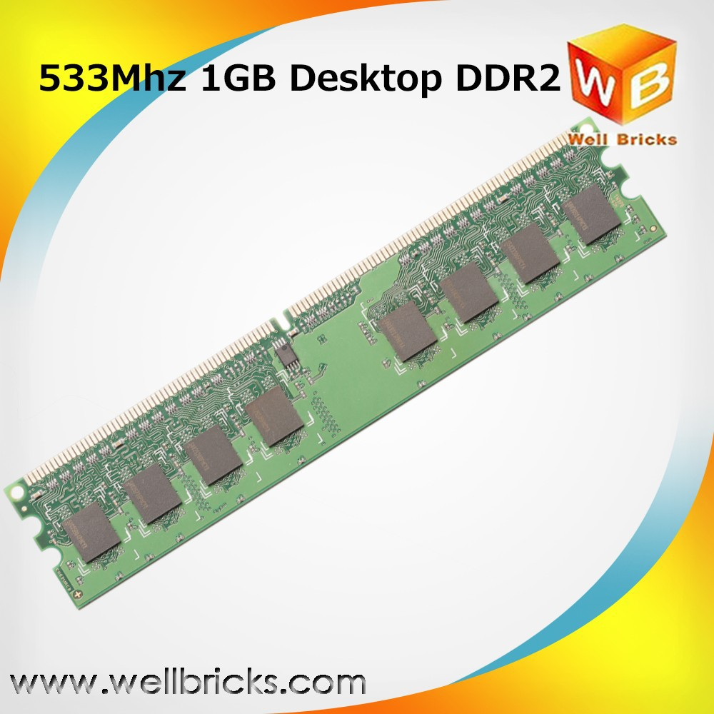 best selling OEM PC 1gb ddr2 ram compatible motherboard price 533Mhz