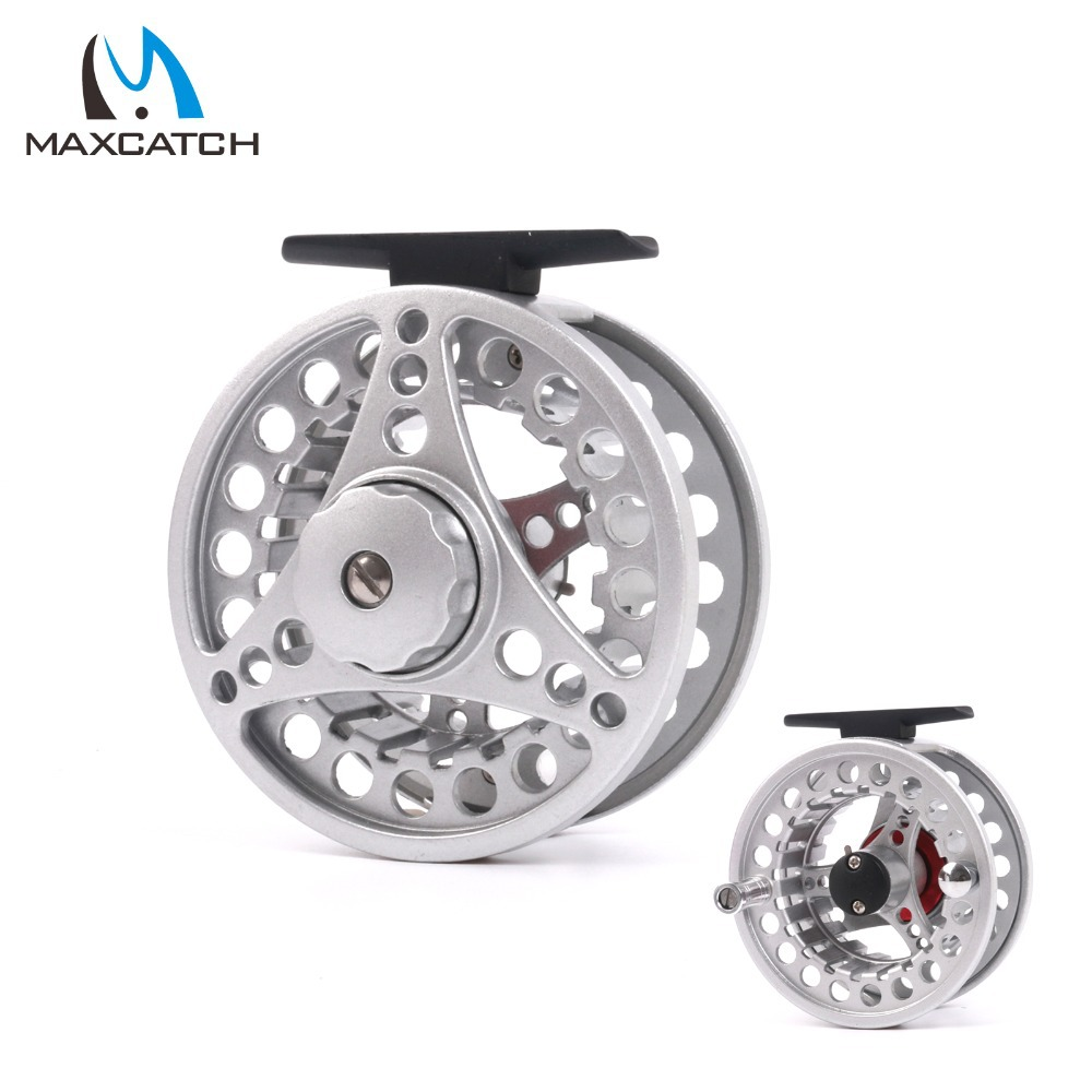 Maxcatch New Fly Fishing Reel 5/6wt  Large Arbor Die Casting Aluminum Fly Reel